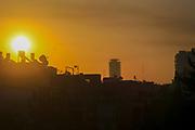 Sunrise over Tel Aviv, Israel