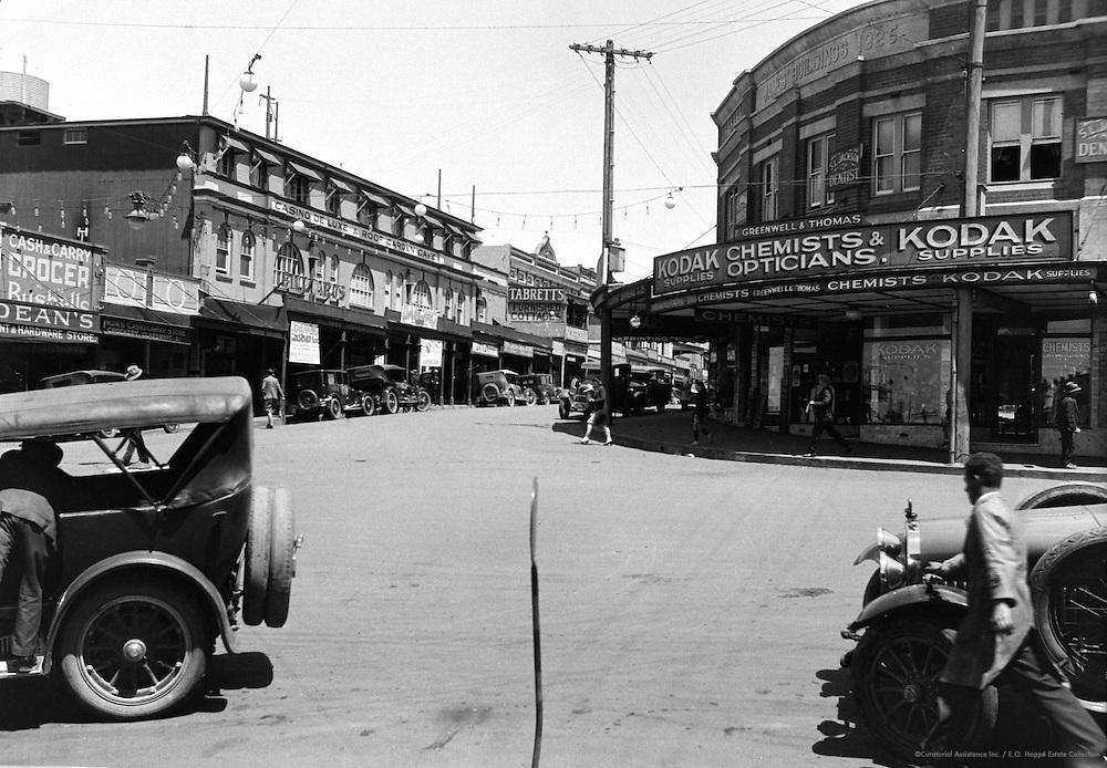 Main Street in Katoomba, Blue Mountains, Australia, 1930