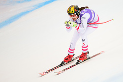 January 19, 2018 - Cortina D'Ampezzo, Dolimites, Italy - Christina Ager of Austria competes  during the Downhill race at the Cortina d'Ampezzo FIS World Cup in Cortina d'Ampezzo, Italy on January 19, 2018. (Credit Image: © Rok Rakun/Pacific Press via ZUMA Wire)