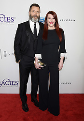 Todd Grinnell at the 43rd Annual Gracie Awards Gala held at the Beverly Wilshire Hotel on May 22, 2018 in Beverly Hills, Ca. © Janet Gough / AFF-USA.COM. 22 May 2018 Pictured: Nick Offerman and Megan Mullally. Photo credit: Janet Gough / AFF-USA.COM / MEGA TheMegaAgency.com +1 888 505 6342