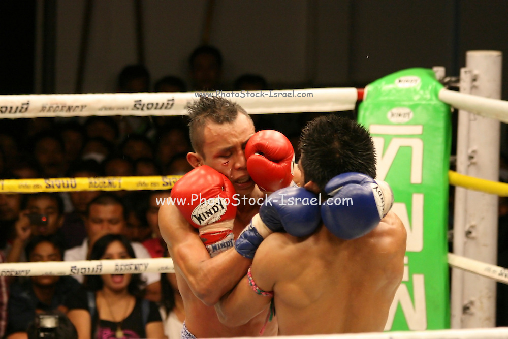 Thailand Thai Boxing competition
