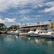 Port of Bridgetown in Barbados