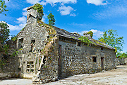 Traditional old stone barn in Kilfenora, County Clare, West of Ireland