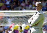 Photo: Greig Cowie.<br /> 02/08/2003<br /> Pre Season Football Friendly. Crystal Palace v Chelsea. Selhurst Park.<br /> Claudio Ranieri