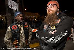 Main Street on the first Saturday night during Daytona Bike Week. Saturday, March 7, 2015.  Photography ©2015 Michael Lichter.