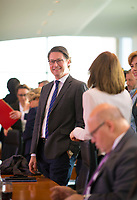 DEU, Deutschland, Germany, Berlin, 07.11.2018: Bundesverkehrsminister Andreas Scheuer (CSU) vor Beginn der 31. Kabinettsitzung im Bundeskanzleramt.