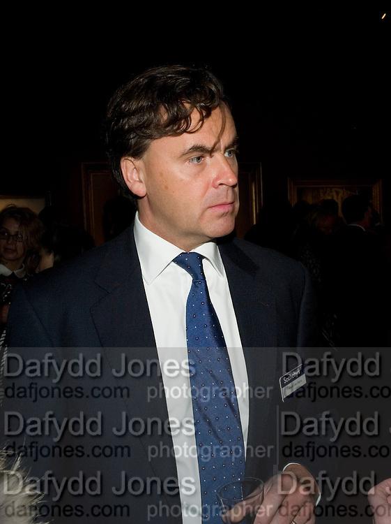 PATRICK VAN MARIS, Imperial and Royal Presents. Russian auction. Sotheby's. New Bond St. London. 23 November 2008.  *** Local Caption *** -DO NOT ARCHIVE-© Copyright Photograph by Dafydd Jones. 248 Clapham Rd. London SW9 0PZ. Tel 0207 820 0771. www.dafjones.com.