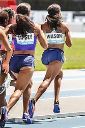 adidas Grand Prix Diamond League Track & Field: womens 800m, Ajee Wilson, USA, adidas