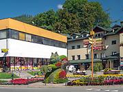 Szczawnica, centrum miasta.