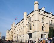 Corpus Christi college exterior, Trumpington Street, Cambridge University, England