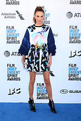 February 23, 2019 - Santa Monica, CA, USA - LOS ANGELES - FEB 23:  Elizabeth Chambers at the 2019 Film Independent Spirit Awards on the Beach on February 23, 2019 in Santa Monica, CA (Credit Image: © Kay Blake/ZUMA Wire)