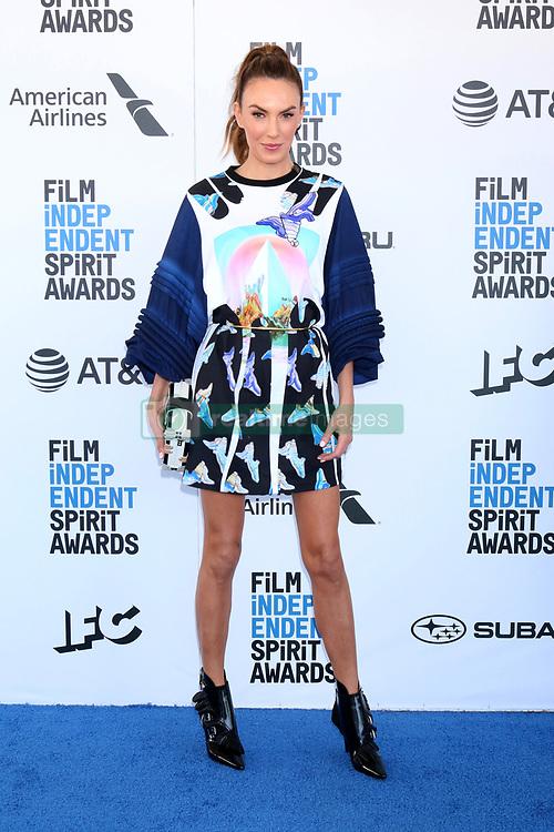 February 23, 2019 - Santa Monica, CA, USA - LOS ANGELES - FEB 23:  Elizabeth Chambers at the 2019 Film Independent Spirit Awards on the Beach on February 23, 2019 in Santa Monica, CA (Credit Image: © Kay Blake/ZUMA Wire)