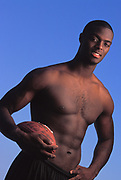 Portrait of football player Plaxico Burress