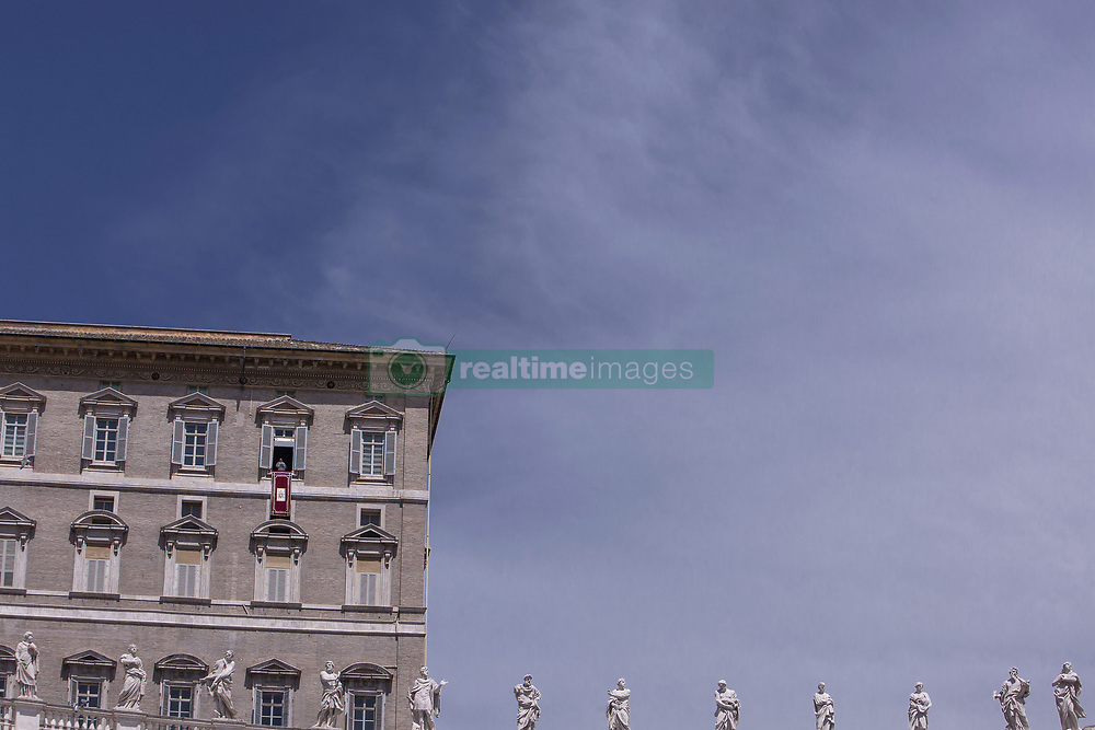 Vatican, Rome - May 12, 2019.Pope Francis  speaks during the Regina Caeli Prayer  from the window of his study overlooking St Peter's Square at the Vatican after celebrating a priesthood ordination and mass in St Peter's Basilica on May 12, 2019 (Credit Image: © Maria Grazia Picciarella/Ropi via ZUMA Press)