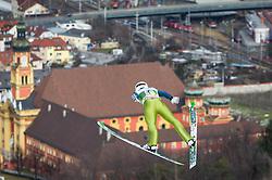 03.01.2013, Bergisel Schanze, Innsbruck, AUT, FIS Ski Sprung Weltcup, 61. Vierschanzentournee, Training, im Bild Simon Ammann (SUI) // Simon Ammann of Switzerland during practice Jump of 61th Four Hills Tournament of FIS Ski Jumping World Cup at the Bergisel Schanze, Innsbruck, Austria on 2013/01/03. EXPA Pictures © 2012, PhotoCredit: EXPA/ Juergen Feichter