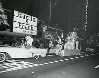 1957 The Geniland float in the Santa Claus Lane Parade