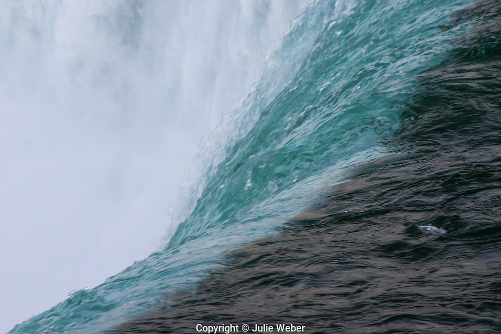 Small section of the Niagara Horseshoe Falls