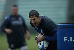 November 20, 2018 - Rome, Italy - Rugby Italy training - Cattolica Test Match.Alessandro Zanni at Giulio Onesti Sport Center in Rome, Italy on November 20, 2018. (Credit Image: © Matteo Ciambelli/NurPhoto via ZUMA Press)