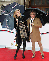 Rod Stewart, Penny Lancaster, The Sun Military Awards - Millies, Guildhall, London UK, 22 January 2016, Photo by Richard Goldschmidt