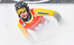 13.11.2016, Black Race Course, Levi, FIN, FIS Weltcup Ski Alpin, Levi, Slalom, Herren, 2. Lauf, im Bild Kristoffer Jakobsen (SWE) // Kristoffer Jakobsen of Sweden  reacts after his 2nd run of mens Slalom of FIS ski alpine world cup at the Black Race Course in Levi, Finland on 2016/11/13. EXPA Pictures © 2016, PhotoCredit: EXPA/ Nisse Schmidt<br /> <br /> *****ATTENTION - OUT of SWE*****