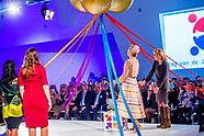 Koningin Maxima opent vrijdagochtend 15 september in de Jaarbeurs in Utrecht het congres 'De Dag va