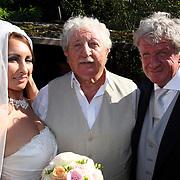 NLD/Laren/20070829 - Huwelijk Willibrord Frequin en Susanne Rastin, met Hans Boskamp