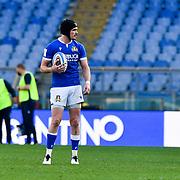 Roma 13/03/2021, Stadio Olimpico<br /> Guinness Six Nations 2021<br /> Italia vs Galles<br /> <br /> Carlo Canna