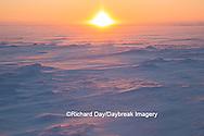 60595-01111 Sunset on tundra, Cape Churchill Wapusk National Park, Churchill, MB