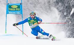 Roberto Nani of Italy during 1st run of Men's Giant Slalom race of FIS Alpine Ski World Cup 57th Vitranc Cup 2018, on 3.3.2018 in Podkoren, Kranjska gora, Slovenia. Photo by Urban Meglič / Sportida