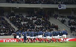 November 17, 2018 - Lille, France - Equipe de France - Echauffement (Credit Image: © Panoramic via ZUMA Press)