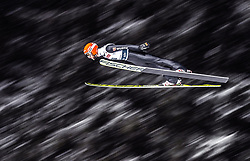 18.01.2019, Wielka Krokiew, Zakopane, POL, FIS Weltcup Skisprung, Zakopane, Qualifikation, im Bild Markus Eisenbichler (GER) // Markus Eisenbichler of Germany during his Qualification Jump of FIS Ski Jumping World Cup at the Wielka Krokiew in Zakopane, Poland on 2019/01/18. EXPA Pictures © 2019, PhotoCredit: EXPA/ JFK
