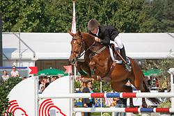 Van Den Brink Dennis (NED) - Royal Queen<br /> World Championship Young Horses Lanaken 2009<br /> Photo© Dirk Caremans