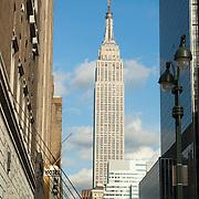 Empire state building. New York city.USA.