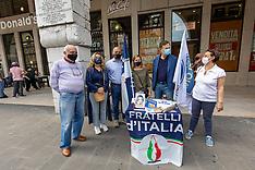 20210529 BANCHETTO FRATELLI ITALIA FERRARA