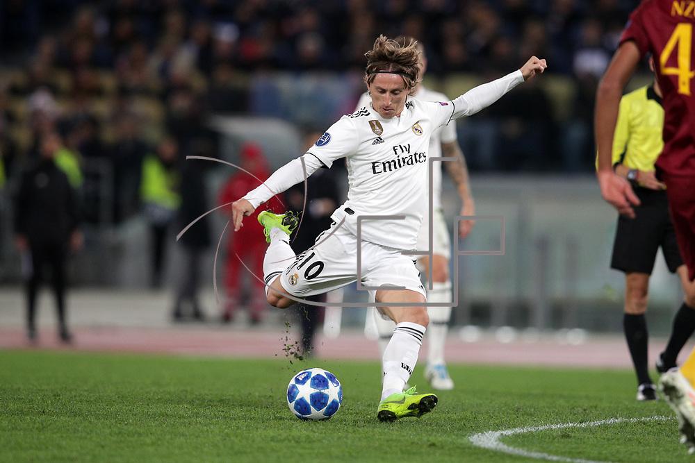 Roma 27/11/2018 Stadio Olimpico<br /> Uefa Champions League<br /> As Roma vs Real Madrid<br /> Luka Modric