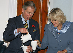 File photo dated 08/11/06 of the Prince of Wales and the Duchess of Cornwall during a visit to community-based charity TocH in Jarrow. Charles and Camilla are celebrating their 15th wedding anniversary on Friday, after they were reunited on Monday when the 72-year-old duchess came out of a 14-day self-isolation on the Balmoral estate in Aberdeenshire.