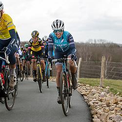 12-03-2021: Wielrennen: Healthy Ageing Tour: Wijster <br />Ellen van Dijk, Shirin van Anrooij