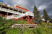 The Kennicott Glacier Lodge in Kennecott, Alaska.