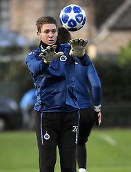 December 10, 2018 - Bruges, Belgique - BRUGGE, DECEMBER 10 : Ethan Horvath goalkeeper of Club Brugge pictured during practice session the day before the UEFA Champions League group A match between Club Brugge KV and Atletico Madrid on December 10, 2018 in Brugge, 10/12/2018 (Credit Image: © Panoramic via ZUMA Press)