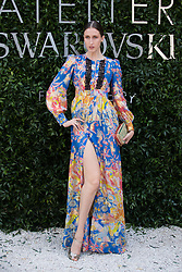 Anna Cleveland attends Atelier Swarovski - Cocktail Of The New Penelope Cruz Fine Jewelry Collection during Paris Haute Couture Fall Winter 2018/2019 in Paris, France on July 02, 2018. Photo by Nasser Berzane/ABACAPRESS.COM