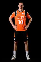 25-04-2013 VOLLEYBAL: NEDERLANDS MANNEN VOLLEYBALTEAM: ROTTERDAM<br /> Selectie Oranje mannen seizoen 2013-2014 / Jeroen Rauwerdink<br /> ©2013-FotoHoogendoorn.nl