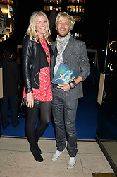 RICK PARFITT Jnr and RACHEL PARFITT at the opening night of Cirque du Soleil's award-winning production of Quidam at the Royal Albert Hall, London on 7th January 2014.