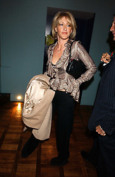 LADY COSIMA SOMERSET at a party to celebrate the publication of 'E is for Eating' by Tom Parker Bowles held at Kensington Place, 201 Kensington Church Street, London W8 on 3rd November 2004.<br /><br />NON EXCLUSIVE - WORLD RIGHTS