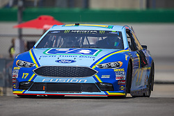 July 13, 2018 - Sparta, Kentucky, United States of America - Ricky Stenhouse, Jr (17) practices for the Quaker State 400 at Kentucky Speedway in Sparta, Kentucky. (Credit Image: © Stephen A. Arce/ASP via ZUMA Wire)