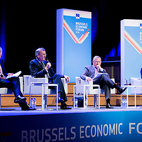 Brussels, Belgium, 9 June 2016<br /> Brussels Economic Forum 2016.<br /> The Brussels Economic Forum (BEF) is the flagship annual economic event of the European Commission.<br /> The BEF brings together top European and international policymakers and opinion leaders as well as civil society and business leaders. It is the place to take stock of economic developments, identify key challenges and debate policy priorities.<br /> Photo: European Commission / Ezequiel Scagnetti