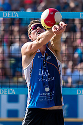 25-08-2019 NED: DELA NK Beach Volleyball, Scheveningen<br /> Last day NK Beachvolleyball / Christiaan Varenhorst #2