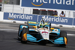 July 13, 2018 - Toronto, Ontario, Canada - CONOR DALY (88) of the United States takes to the track to practice for the Honda Indy Toronto at Streets of Exhibition Place in Toronto, Ontario. (Credit Image: © Justin R. Noe Asp Inc/ASP via ZUMA Wire)