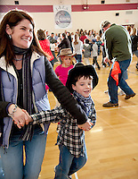 Inter Lakes Elementary School Square Dance  November 19, 2010.