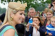 Koningin Máxima opende in de Utrechtse wijk een park met haar eigen naam, het Máximapark.<br /> <br /> Queen Máxima opened in the Utrecht neighborhood a park with her own name, Maxima Park.