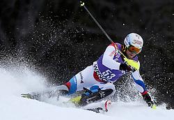 19.01.2014, Maennlichen Jungfrau, Wengen, SUI, FIS Weltcup Ski Alpin, Wengen, Slalom, Herren, im Bild Marc Gini (SUI) // during mens Slalom of FIS Ski Alpine World Cup at the Maennlichen Jungfrau in Wengen, Switzerland on 2014/01/19. EXPA Pictures © 2014, PhotoCredit: EXPA/ Freshfocus/ Christian Pfander<br /> <br /> *****ATTENTION - for AUT, SLO, CRO, SRB, BIH, MAZ only*****